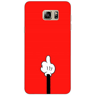 EYP Mickey Mouse Back Cover Case For Samsung S6 Edge+
