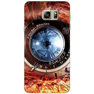 EYP Lens Eye Back Cover Case For Samsung S6 Edge+