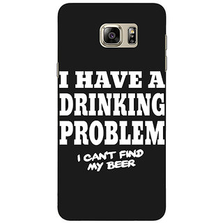 EYP Beer Quote Back Cover Case For Samsung S6 Edge+