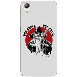 EYP LOTR Hobbit Gandalf Back Cover Case For HTC Desire 626G+