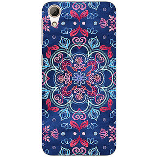 EYP Night Floral Pattern Back Cover Case For HTC Desire 626G+