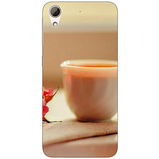 EYP Coffee Date Back Cover Case For HTC Desire 626G+