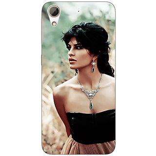 EYP Bollywood Superstar Jacqueline Fernandez Back Cover Case For HTC Desire 626G+