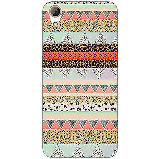 EYP Cheetah Leopard Print Back Cover Case For HTC Desire 626S