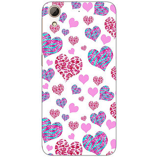 EYP Hearts Back Cover Case For HTC Desire 626S