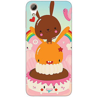 EYP Cartoons Back Cover Case For HTC Desire 626G+