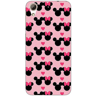 EYP Mickey Minnie Mouse Back Cover Case For HTC Desire 626G+