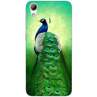 EYP Paisley Beautiful Peacock Back Cover Case For HTC Desire 626G