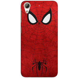 EYP Superheroes Spider Man Back Cover Case For HTC Desire 728