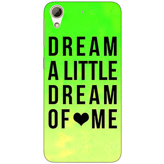 EYP Dream Love Back Cover Case For HTC Desire 728