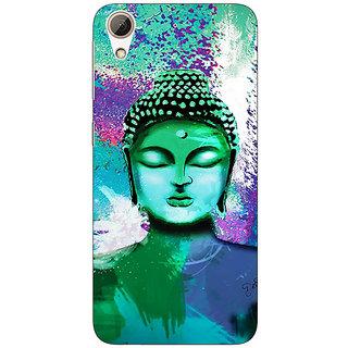 EYP Gautam Buddha Back Cover Case For HTC Desire 728
