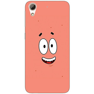EYP Spongebob Patrick Back Cover Case For HTC Desire 728 Dual Sim