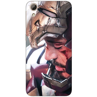 EYP Superheroes Ironman Back Cover Case For HTC Desire 728 Dual Sim