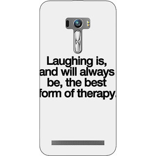 EYP Laughter Quote Back Cover Case For Asus Zenfone Selfie