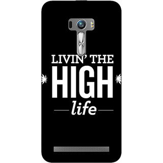 EYP Weed Quotes Back Cover Case For Asus Zenfone Selfie