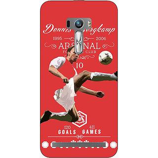 EYP Arsenal Dennis Bergkamp Back Cover Case For Asus Zenfone Selfie