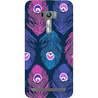 EYP Feather Pattern Back Cover Case For Asus Zenfone Selfie
