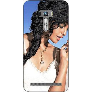 EYP Bollywood Superstar Jacqueline Fernandez Back Cover Case For Asus Zenfone Selfie