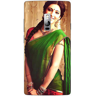 EYP Bollywood Superstar Shruti Hassan Back Cover Case For OnePlus Two