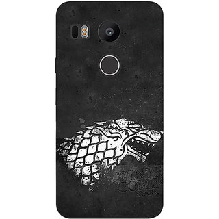 EYP Game Of Thrones GOT House Stark  Back Cover Case For LG Google Nexus 5X