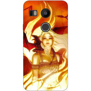 EYP Game Of Thrones GOT House Targaryen  Back Cover Case For LG Google Nexus 5X