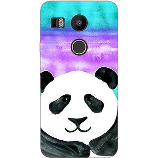 EYP Panda Pattern Back Cover Case For LG Google Nexus 5X