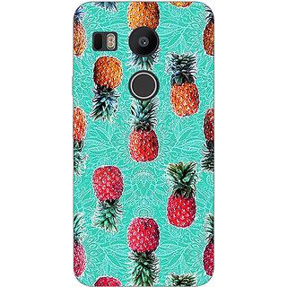 EYP Pineapple Pattern Back Cover Case For LG Google Nexus 5X