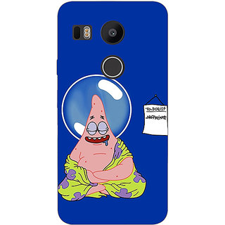 EYP Spongebob Patrick Back Cover Case For LG Google Nexus 5X
