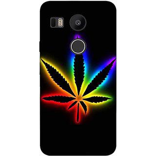 EYP Weed Marijuana Back Cover Case For LG Google Nexus 5X