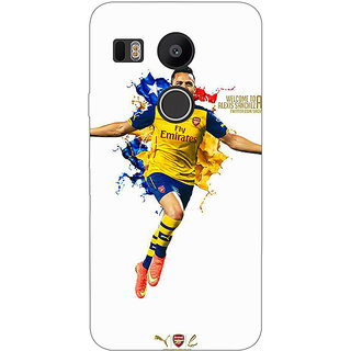EYP Arsenal Back Cover Case For LG Google Nexus 5X