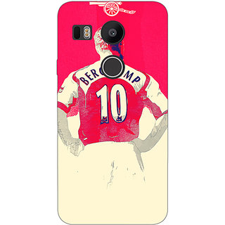 EYP Arsenal Dennis Bergkamp Back Cover Case For LG Google Nexus 5X