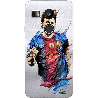 EYP Barcelona Messi Back Cover Case For LG Google Nexus 5X