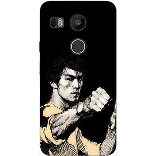 EYP Bruce Lee Back Cover Case For LG Google Nexus 5X