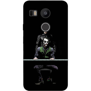 EYP Superheroes Batman Dark knight Back Cover Case For LG Google Nexus 5X