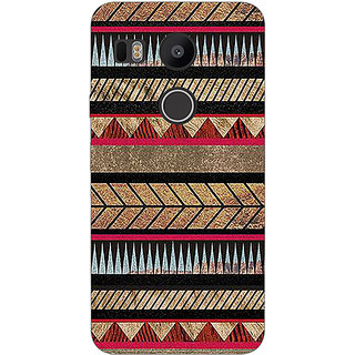 EYP Aztec Girly Tribal Back Cover Case For LG Google Nexus 5X
