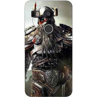 EYP God of War Back Cover Case For LG Google Nexus 5X