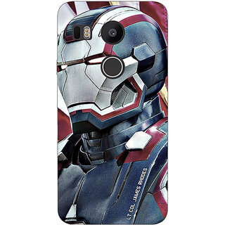EYP Superheroes Ironman Back Cover Case For LG Google Nexus 5X