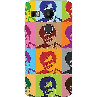 EYP Bollywood Superstar Rajinikanth Back Cover Case For LG Google Nexus 5X