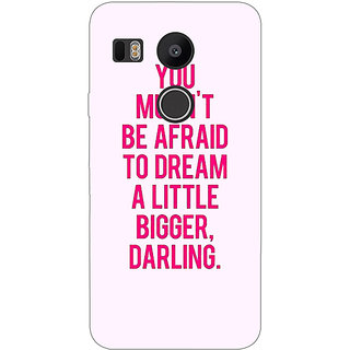EYP Quotes Back Cover Case For LG Google Nexus 5X