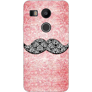 EYP Mustache Back Cover Case For LG Google Nexus 5X