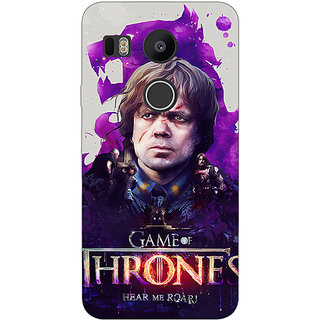 EYP Game Of Thrones GOT House Lannister Tyrion Back Cover Case For LG Google Nexus 5X