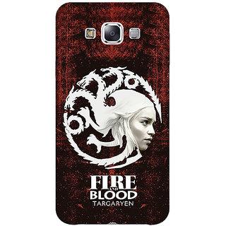EYP Game Of Thrones GOT House Targaryen  Back Cover Case For Samsung Galaxy J2