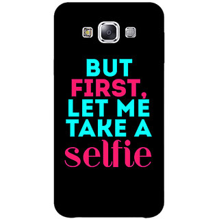 EYP Selfie Quote Back Cover Case For Samsung Galaxy J1