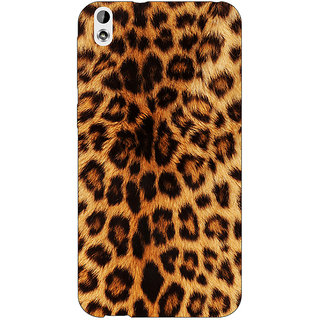 EYP Cheetah Leopard Print Back Cover Case For HTC Desire 816