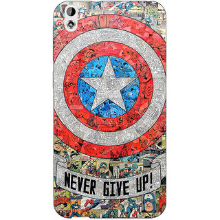 EYP Superheroes Captain America Back Cover Case For HTC Desire 816