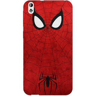 EYP Superheroes Spider Man Back Cover Case For HTC Desire 816