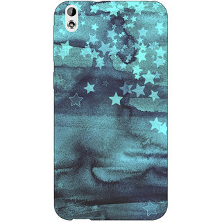 EYP Star Nights Pattern Back Cover Case For HTC Desire 816