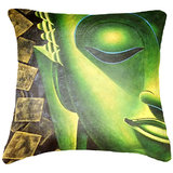 Indian Saint Cushion Cover Throw Pillow Design 1