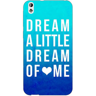 EYP Dream Love Back Cover Case For HTC Desire 816 Dual Sim