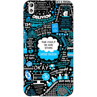 EYP TFIOS Fancy  Back Cover Case For HTC Desire 816 Dual Sim